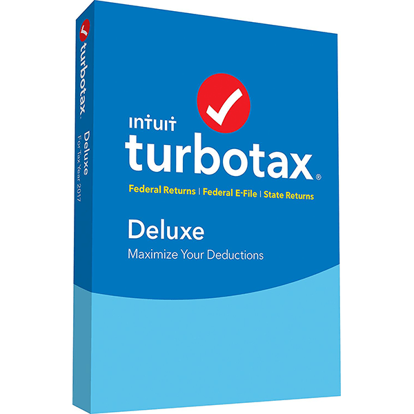 TurboTax Deluxe 2018 Fed Efile PC/MAC