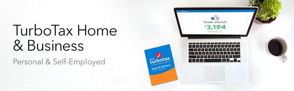 Buy TurboTax Home & Business 2018