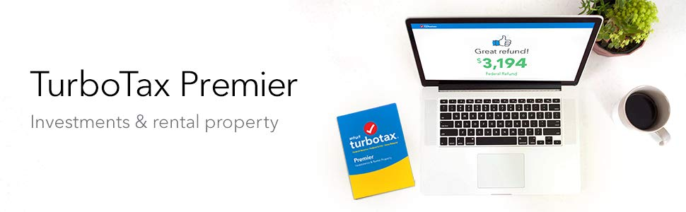 TurboTax Premier 2018 Description
